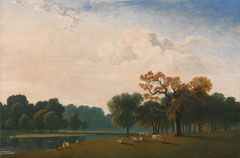 John Martin - Kensington Gardens