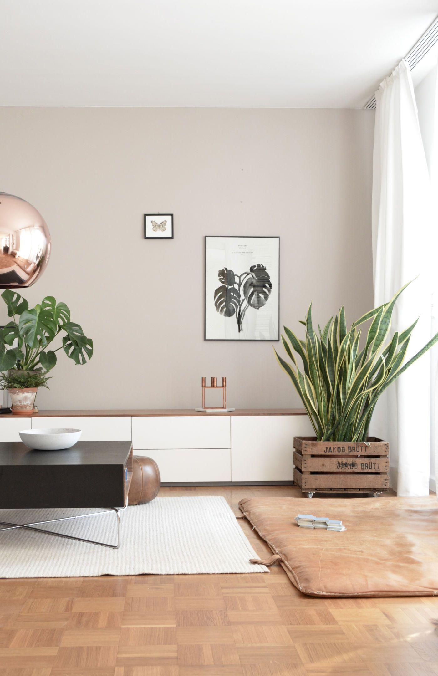 Wohnzimmer Wand Beige | Wandfarbe wohnzimmer, Wohnzimmer