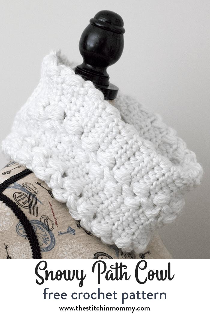 Snowy Path Cowl - Free Crochet Pattern (Make it for Me 2018 | scarfs ...