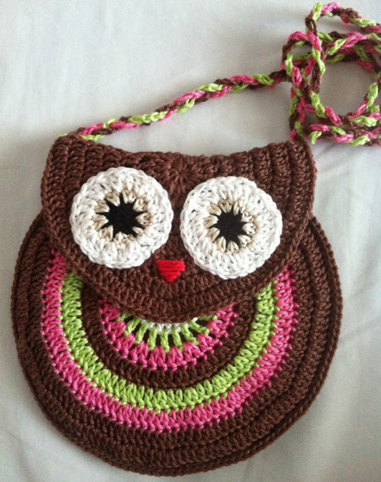 Crochet Owl Projects You Will Love | Pinterest | Monederos, Patrones ...