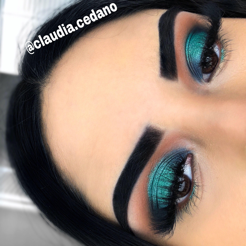 Green eye makeup Indie makeup brands, Makeup for green