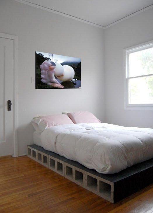 Bett selber bauen für ein individuelles Schlafzimmer-Design | Sara\'s ...