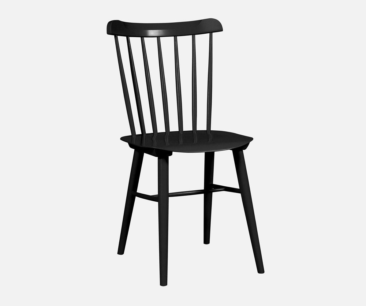 Holzstuhl Windsor Schwarz - Stühle - Möbel | Büro | Pinterest ...