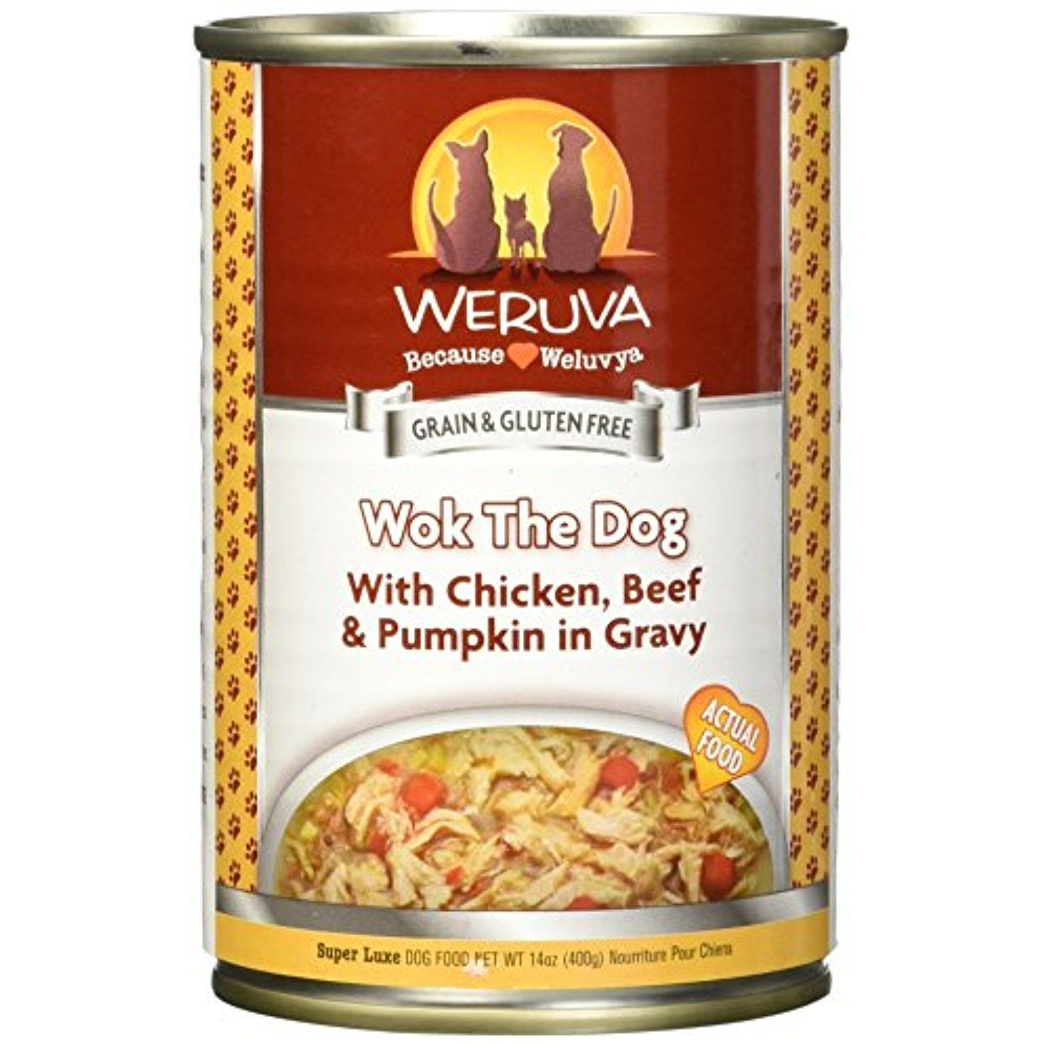 Weruva Wok The Dog Canned Dog Food You Can Click Image For More Details This Is An Affiliate Link And I Rec Dog Food Recipes Canned Dog Food Wet Dog Food