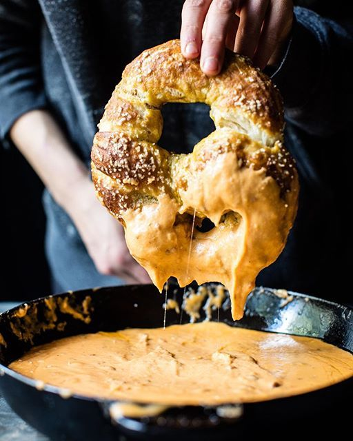 Soft+Pretzels+With+Spicy+Cheddar+Queso+on+@the_feedfeed+https://thefeedfeed.com/staub/halfbakedharvest/soft-pretzels-with-spicy-cheddar-queso