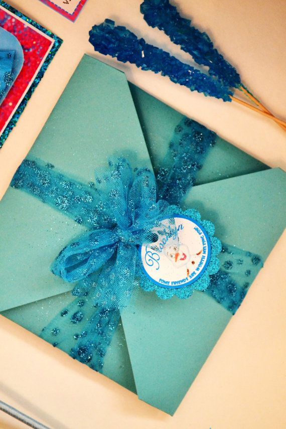 3D Frozen Party Invitation 14   Party invitations, Frozen party ...