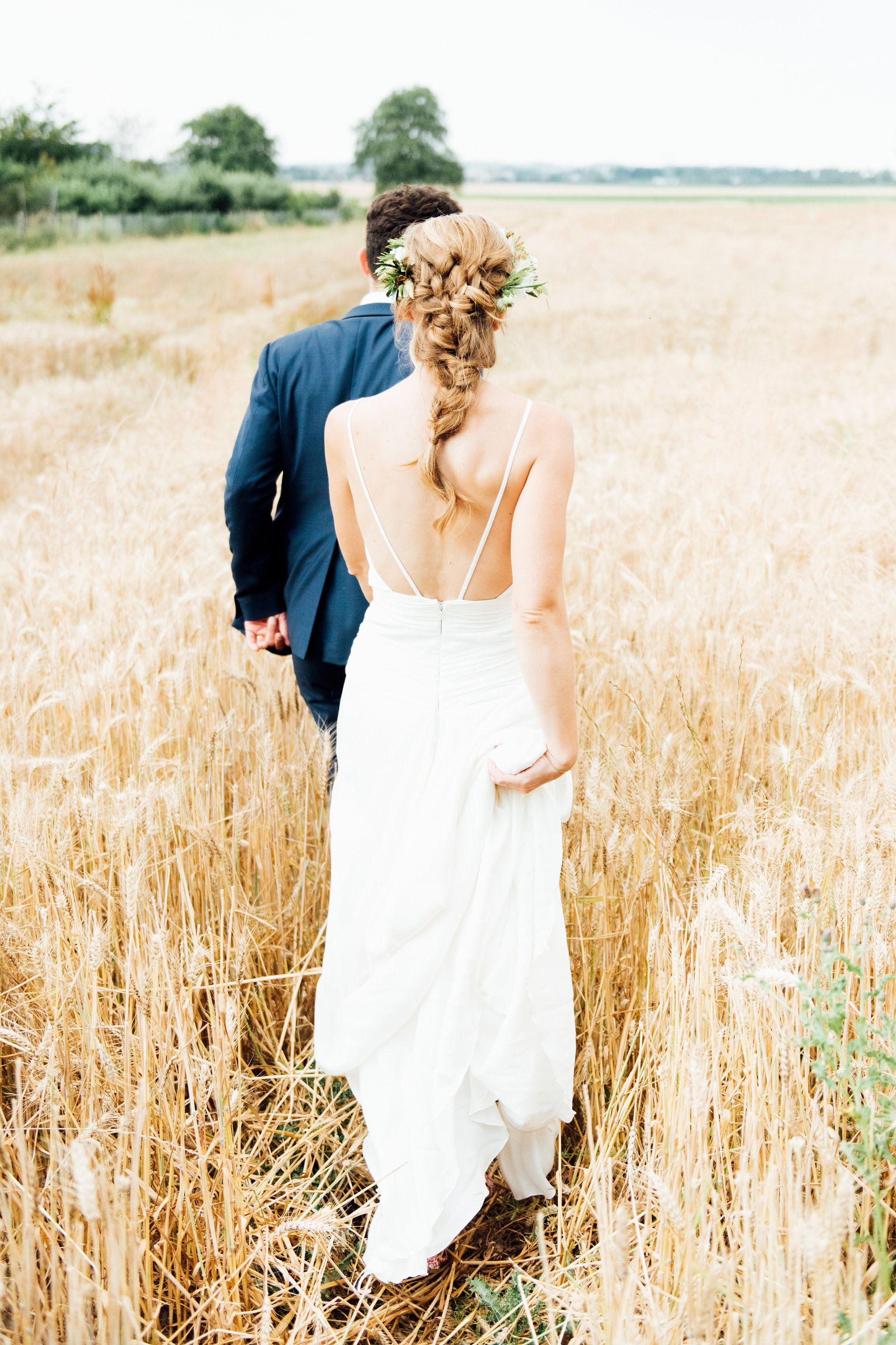 Tresse bohème coiffure mariage The reporthair en 2019