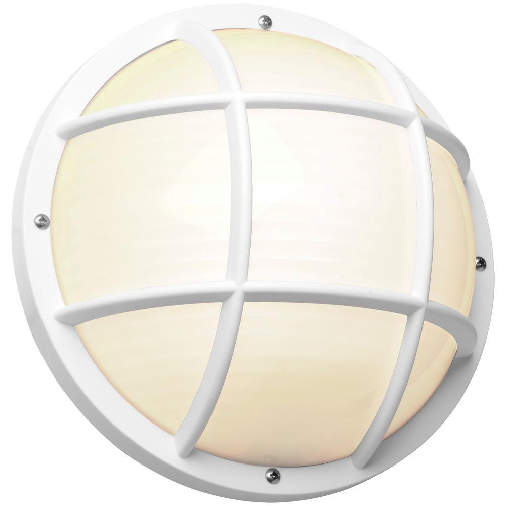 Newport Coastal 10 25 In White Outdoor Incandescent Nautical Flushmount 7971 02w Nautical Outdoor Lighting Incandescent Flush Mount Lighting
