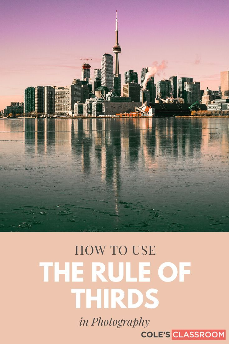 Learn how to use the photographic rule of thirds as well as other techniques, methods, and guidelines to have more appealing composition in your photography artwork. #colesclassroom #photography #ruleofthirds #howto