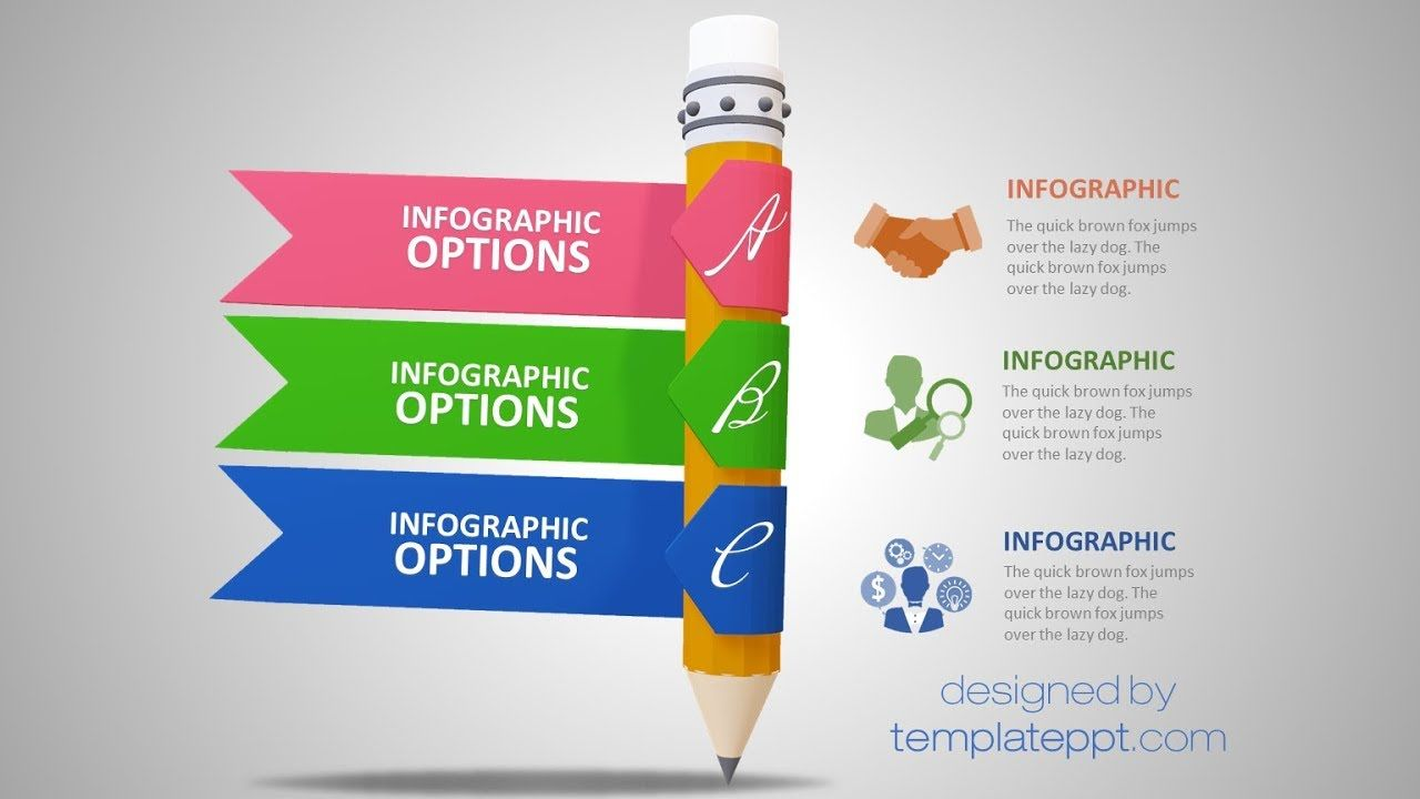 3d Infographic Powerpoint Template Powerpoint Template Free Infographic Template Powerpoint Free Powerpoint Templates Download