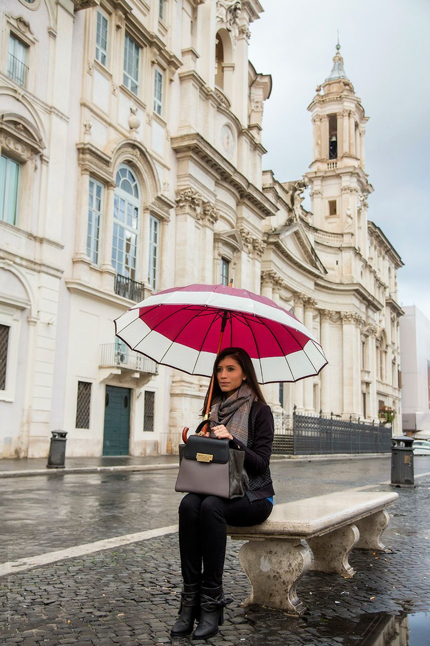 Italy In November Stylish Rainy Day Outfit Italy In