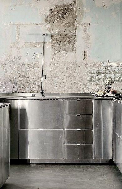Pin de Hedwig en INTERIOR Pinterest Cocinas, Gris y Merito