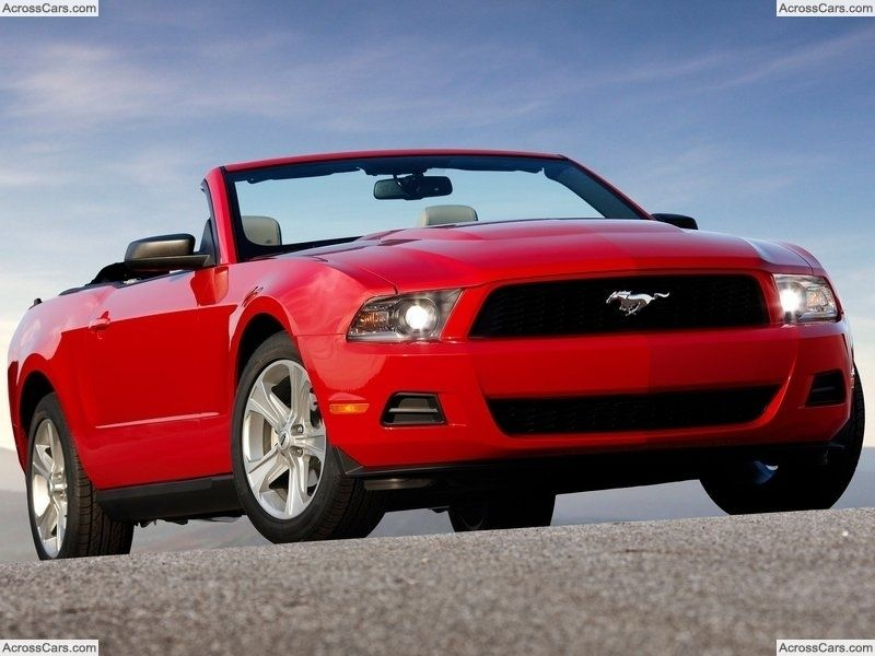 Ford Mustang Convertible 2010 2010 Ford Mustang Ford Mustang