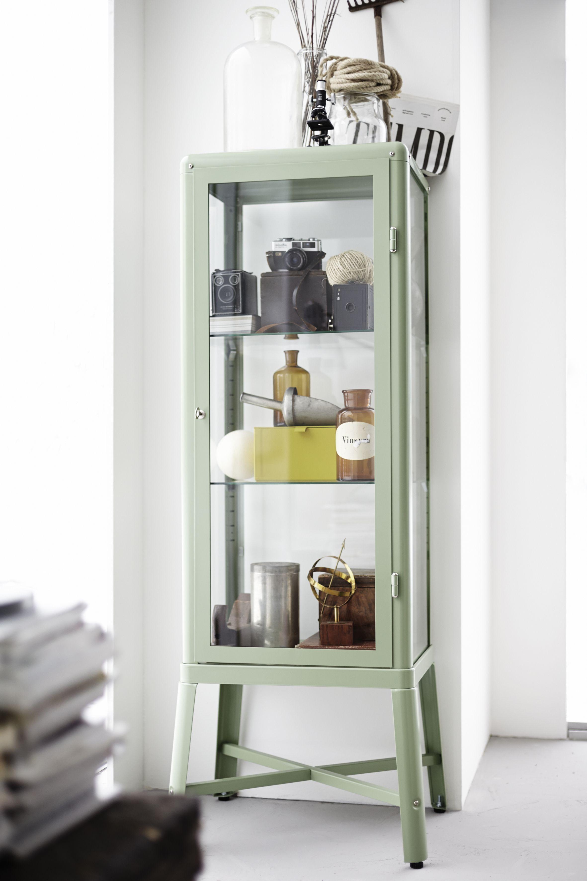 Zeer FABRIKÖR vitrinekast | #IKEA #opbergen #vitrine #kast #interieur  &QQ22