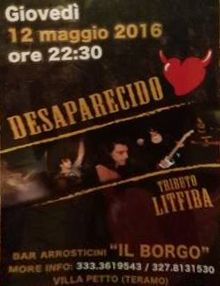 Il Borgo  DESAPARECIDO Live http://ift.tt/1s7Ovt1