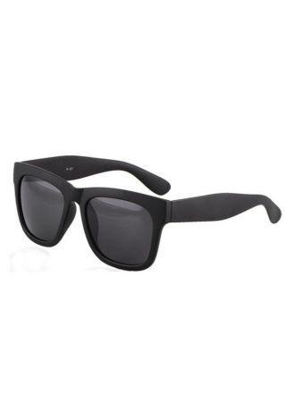f662aa28f Matte Black Plastic Retro Wayfarer Sunglasses   Sun glasses ...