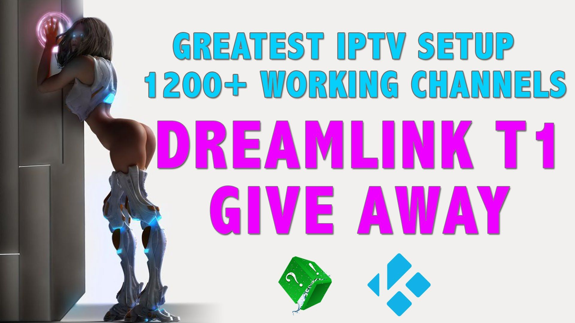 THE BEST IPTV SETUP 1200+ WORKING CHANNELS (DREAMLINK T1 BOX GIVAWAY
