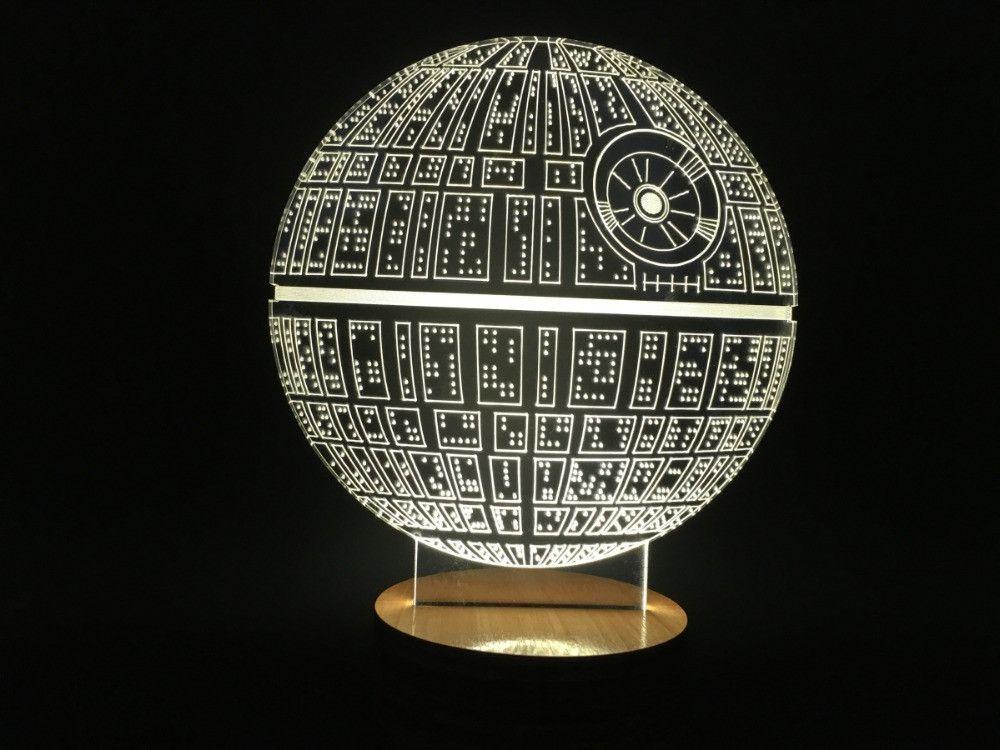 Star Wars Death Star Bulbing Lamp Table Lamp Micro USB Light for ...