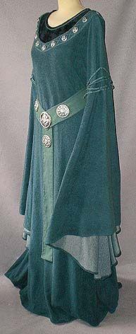 Celtic Sea Gown seitlich