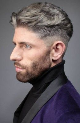 Mature short mens hair styles
