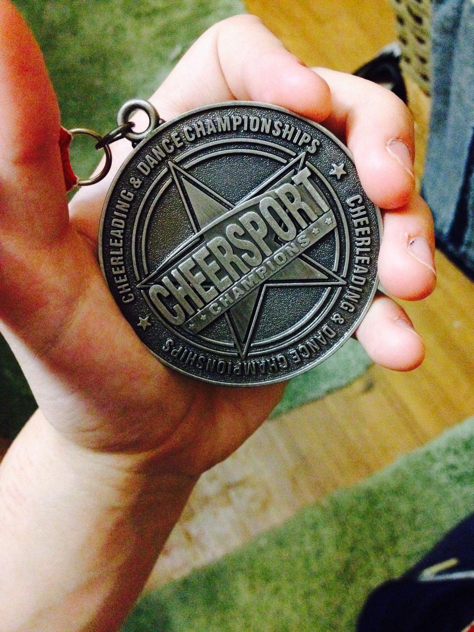 Cheersport Champion 2nd place #cheer #cheerleading