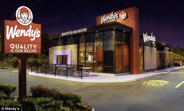 Fast Food Building Designs Amusing No It's Not A Chipotle Wendy's Launches Redesign Inspired. Design Inspiration