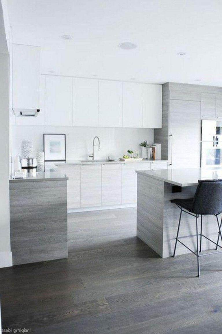 Ideen für küchenschränke ohne türen  handsome gray kitchen design ideas  kitchen  pinterest