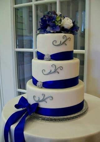 Royal Blue And Silver Wedding Ideas Flowers Concept Wedding