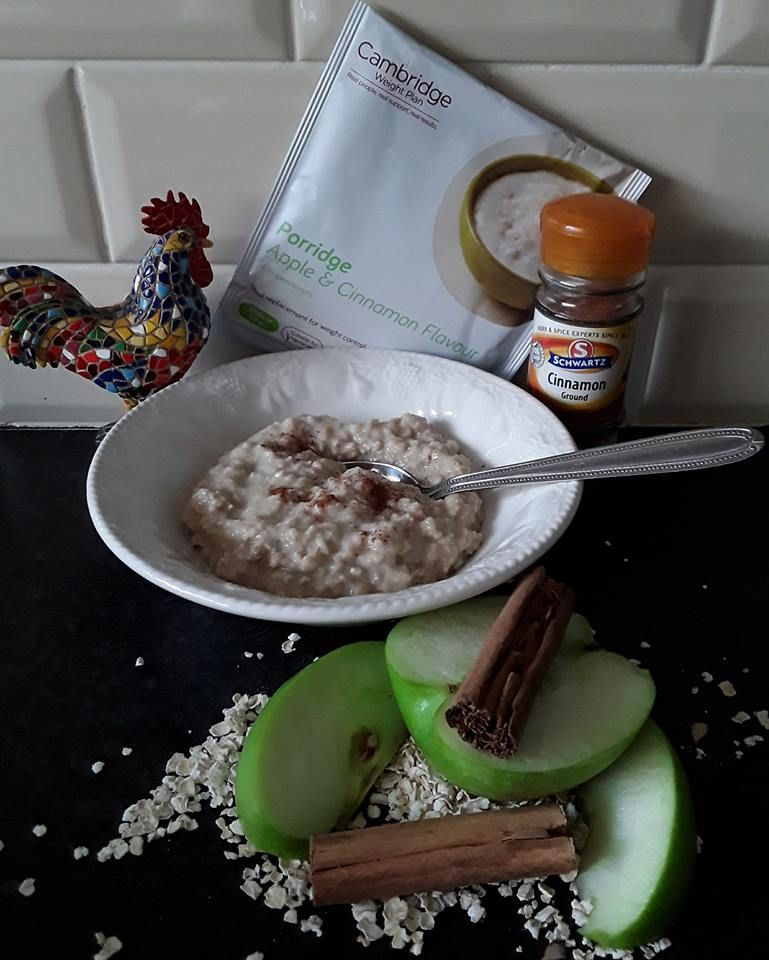 Lovely Apple Cinnamon Porridge Add More Cinnamon If Preferred Lovely Choice For Breakfast Or Any Time Suitable For Vegetarians Halal Certified Micr
