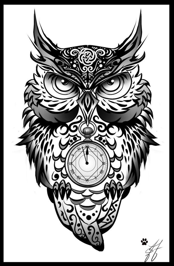 Resultado De Imagen Para Tatuajes De Buhos Para Hombres Tattoos