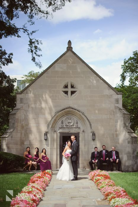 Northwestern university wedding