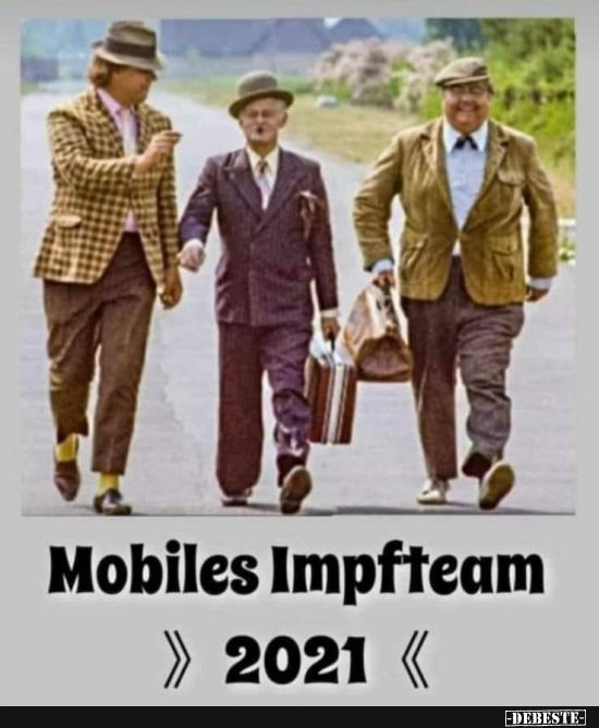 Mobiles Impfteam 2021..