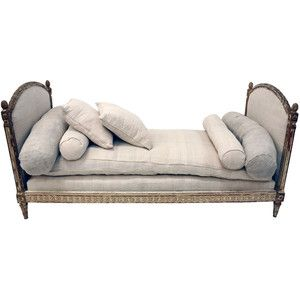 Antique French Louis XVI Daybed
