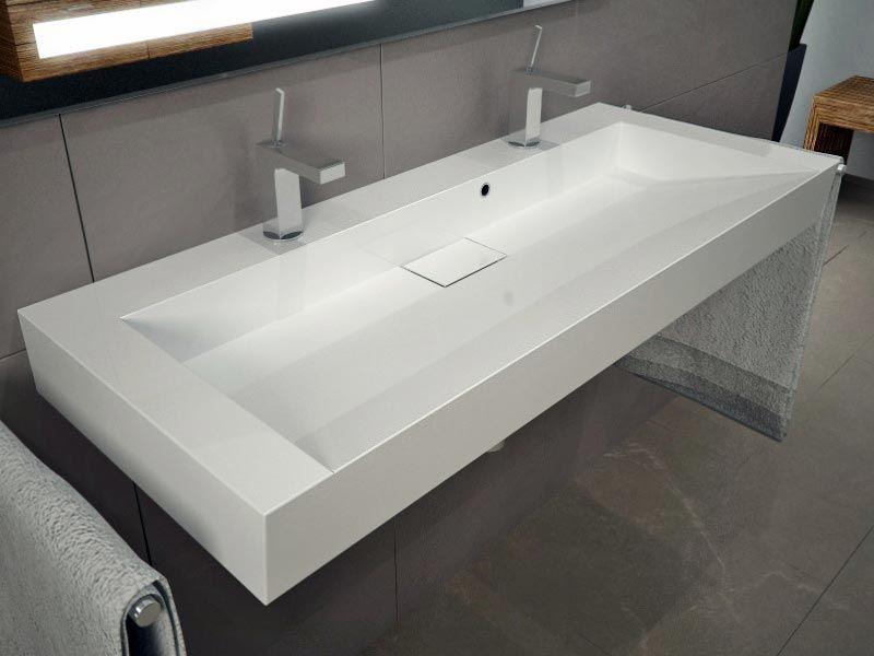 Doppelwaschtisch aufsatzwaschbecken  doppel Waschbecken | Bad | Pinterest | Doppel-waschbecken ...