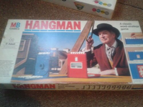 Toys And Games Hangman Words