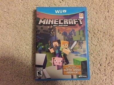 Minecraft: Wii U Edition (Nintendo Wii U 2016) https://t.co/xWuhrqmvNj https://t.co/LtkoVQLk7t