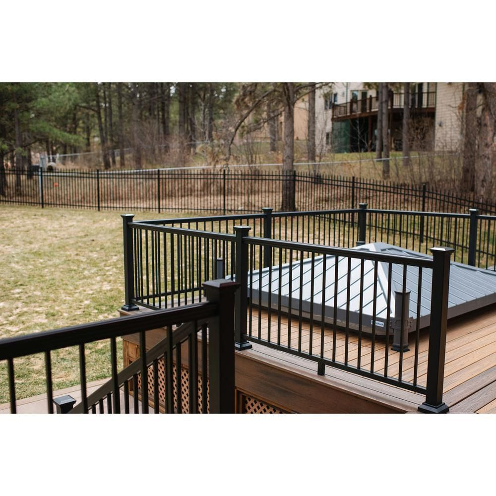 Pin On Home Ideas | Home Depot Deck Handrail | Stairs | Face Mount | Aluminum Balusters | Cable Railing Kit | Southern Yellow Pine