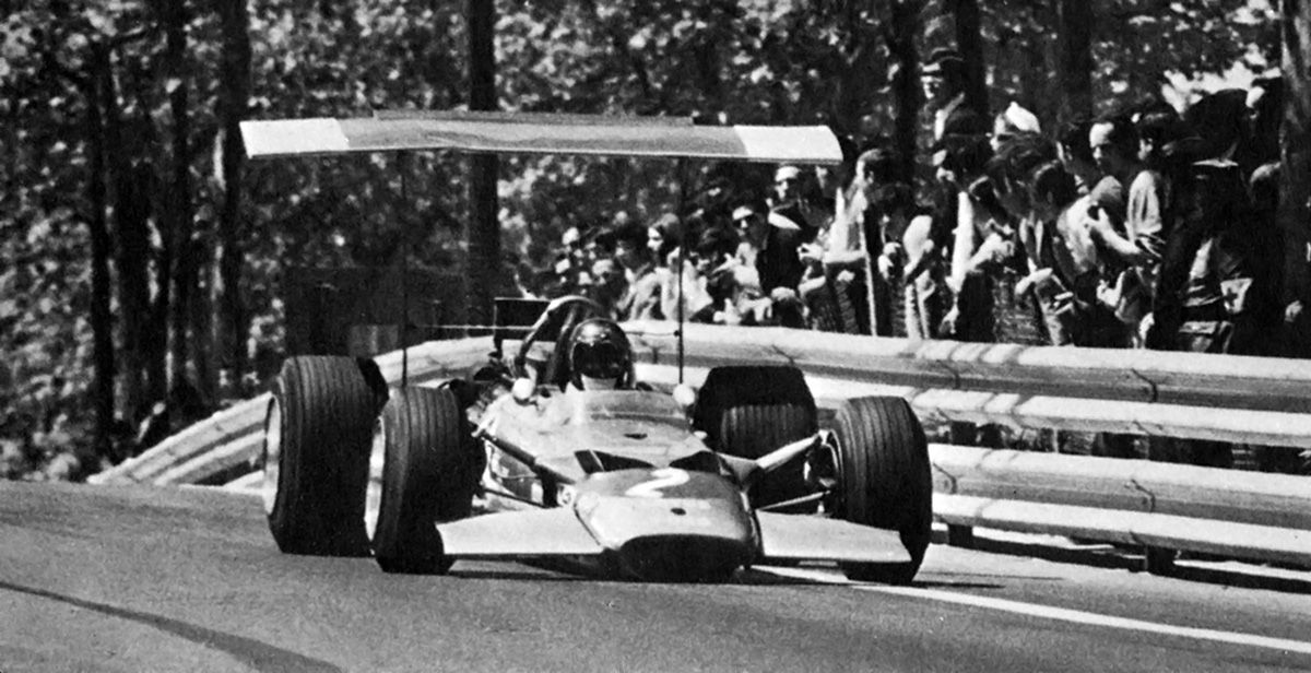 Montjuich 1969, Jochen Rindt. Before the crash.