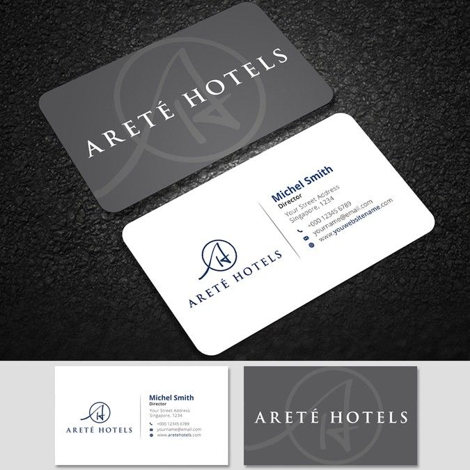 Arete hotel business card by rajjj business card pinterest arete hotel business card by rajjj colourmoves