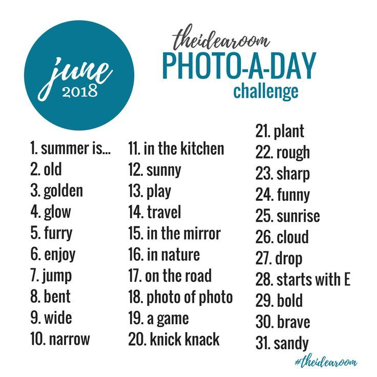 January Photo Challenge, March