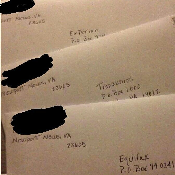 One of my clients from Newport News, Virginia just mailed off her