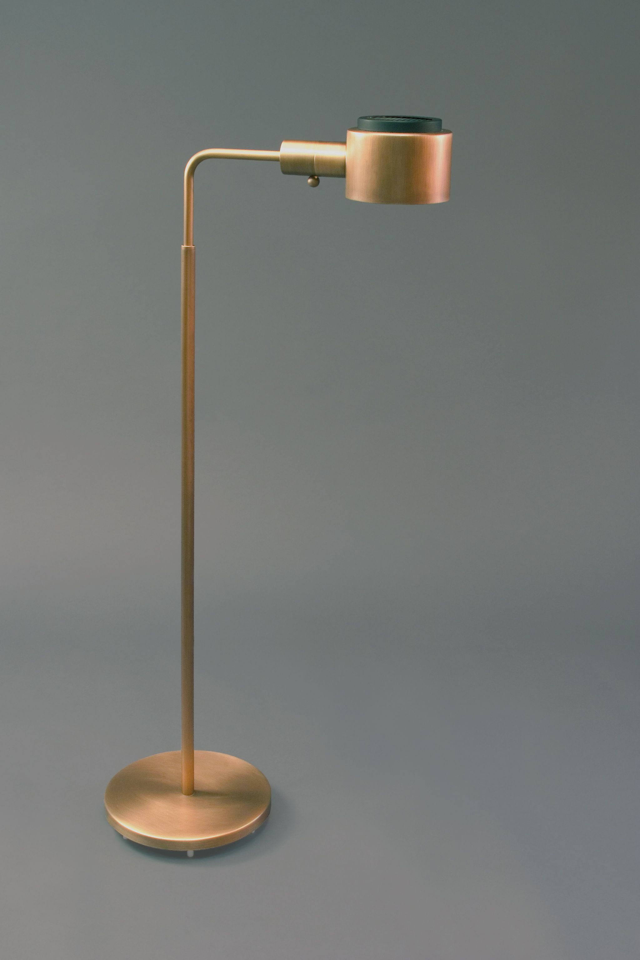 Beautiful Casella Lighting Antique Brass Pharmacy Floor lamp with ...