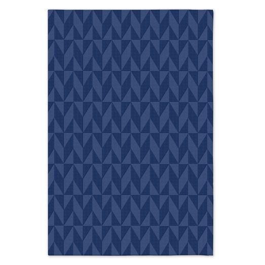 Custom Andes Rug , True Blue, 12'x18'