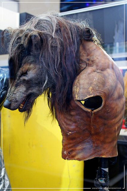 Empire BIG SCREEN : One of Bob Keen's dog soldier costumes ...