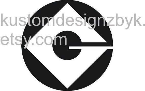 Minion G Iron On Decal Transfer For Dark Fabric Iron Dark And