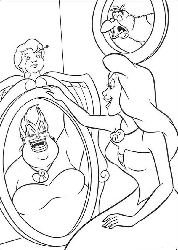 Disney Coloring Pages The Little Mermaid Ariel Coloring Pages