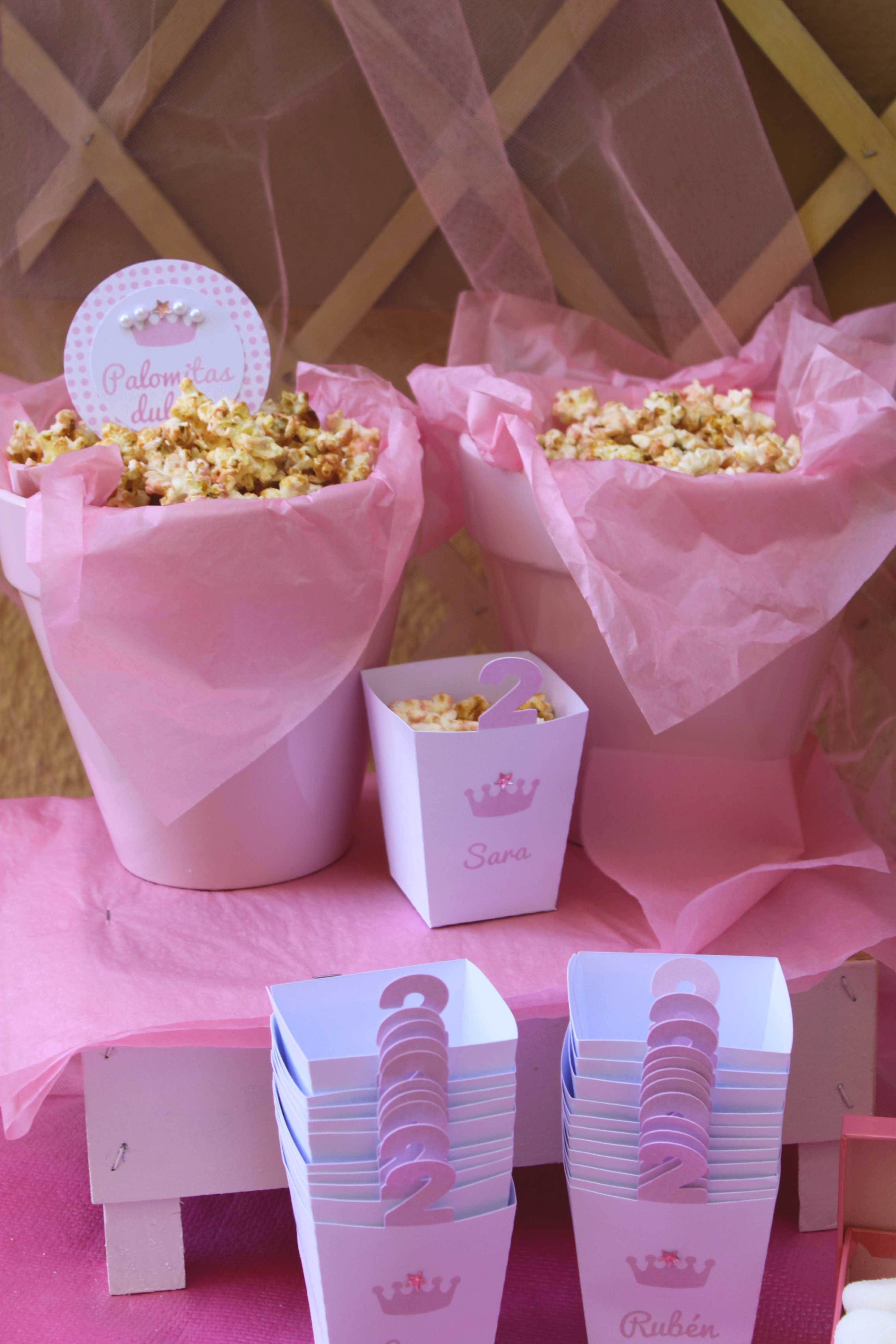 El cumplea os rosa y cuqui de sara pink princess - Ideas para cumpleanos de nina ...