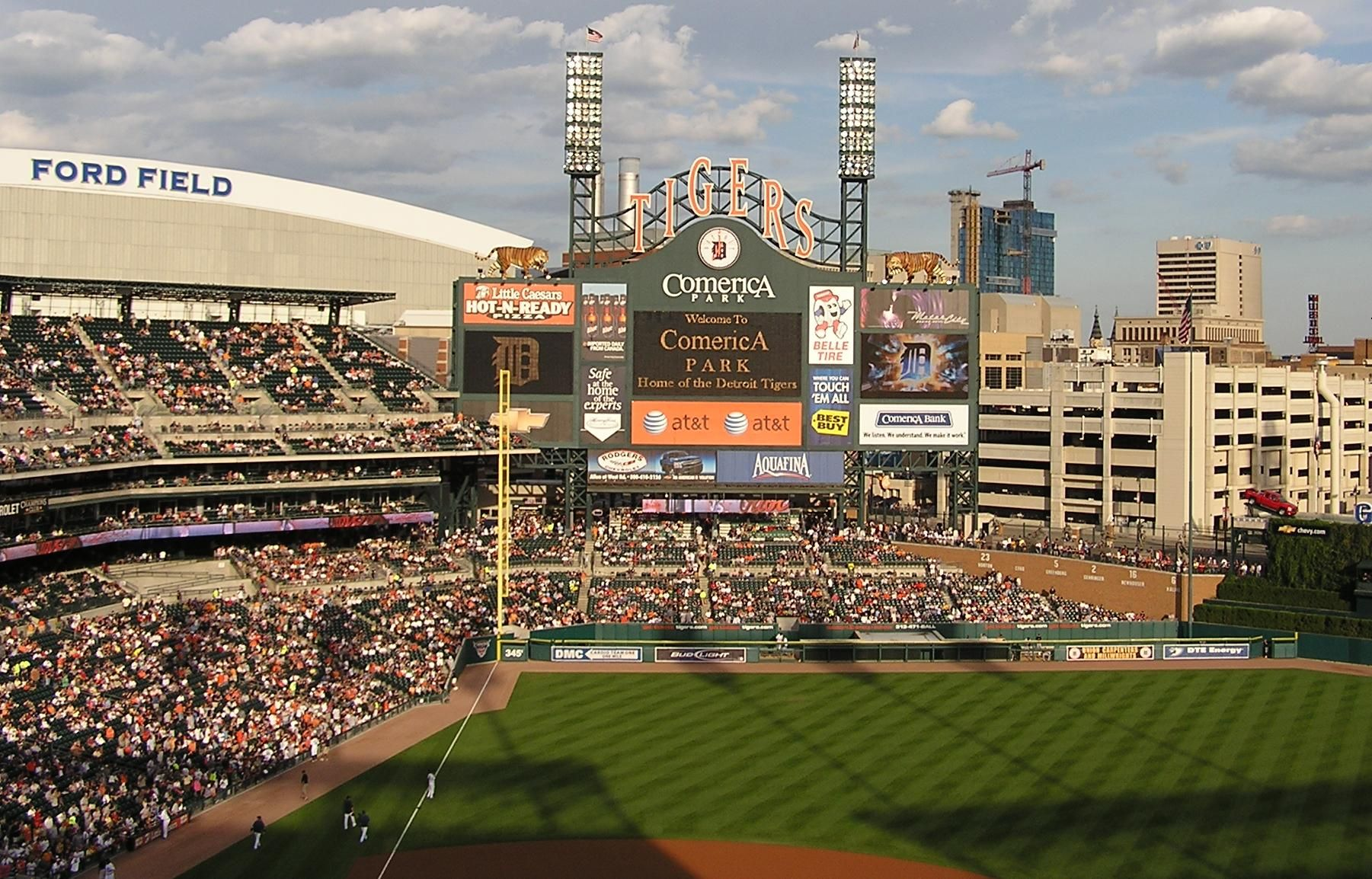Comerica Park - Most beautiful ballpark in the Majors... in my ...