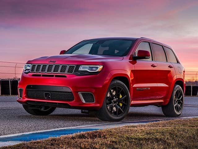 Jeep Prices 707 Hp Grand Cherokee Trackhawk At A Bargain Jeep Grand Cherokee Srt Jeep Grand Cherokee New Jeep Grand Cherokee