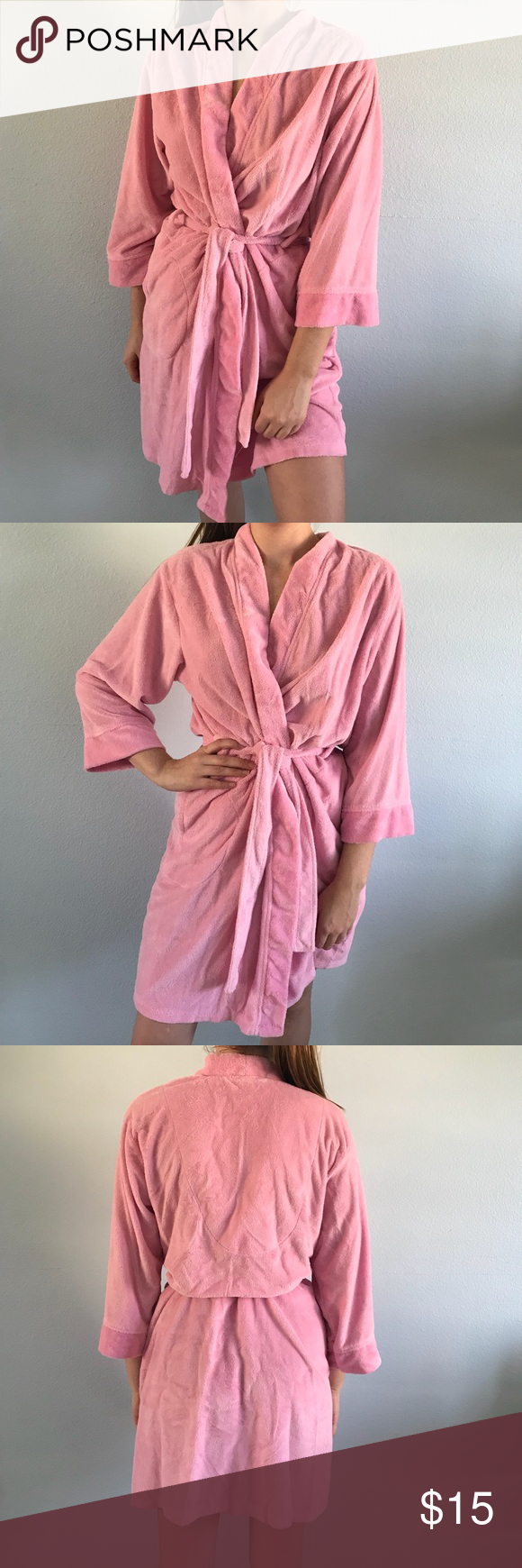 Pink Robe | Dressing gown, Cozy and Customer support
